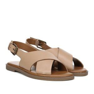 Franco Sarto Kayleigh Slingback Leather Sandal 9M